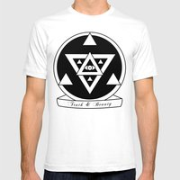 Truth And Beauty Mens Fitted Tee White SMALL