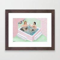 Bad Habit Framed Art Print