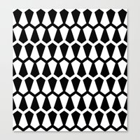 Graphic_Black&White #5 Canvas Print