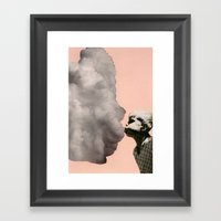Exhalation Framed Art Print