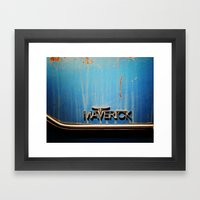 Maverick Framed Art Print