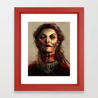 The North Remembers Framed Art Print