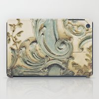 Blue Lace of Versailles iPad Case
