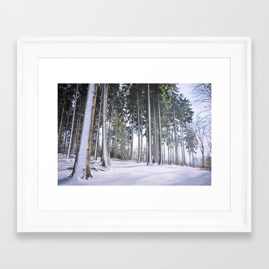 winters magic Framed Art Print