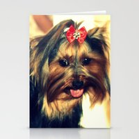 D's Yorkie Puppy Stationery Cards