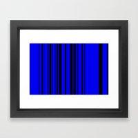 Pattern 7 Framed Art Print