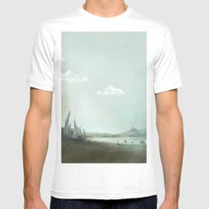 Archaeology of Dreams SMALL White Mens Fitted Tee