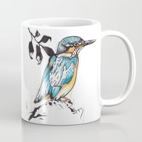 Kingfisher. Mug