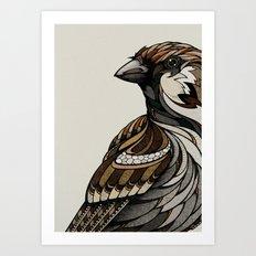 Berlin Sparrow Art Print