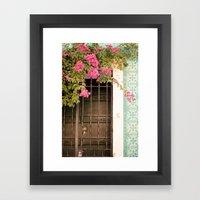 Door #6 Framed Art Print