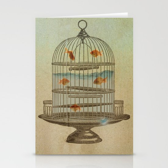 flying fish Stationery Card