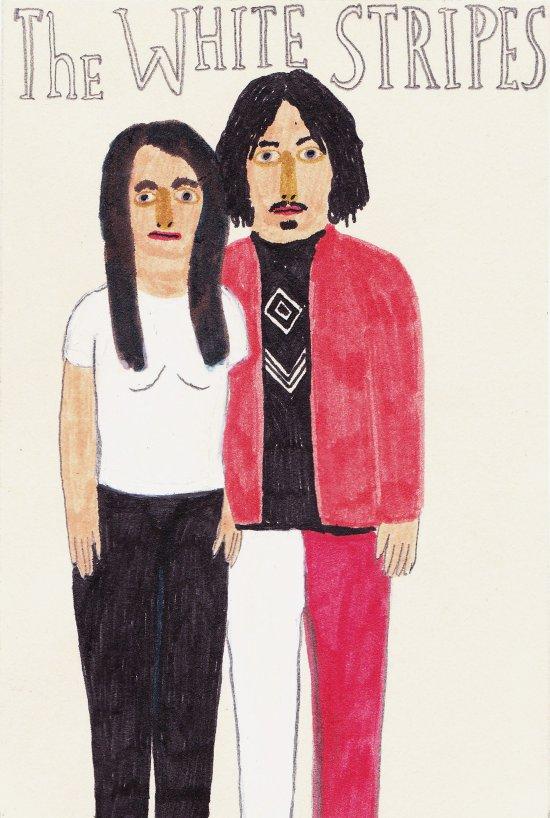 The White Stripes Art Print