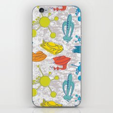 Atoms and Spaceships iPhone & iPod Skin