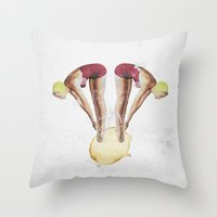 Untitled | Collage Throw Pillow