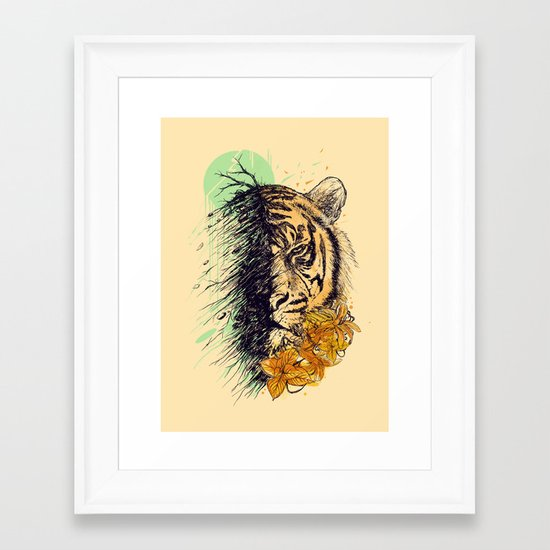 Fade Framed Art Print