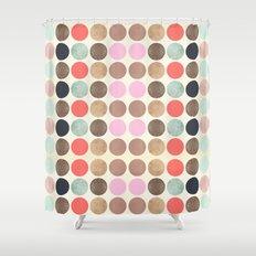 DG Dots - Parisian Shower Curtain