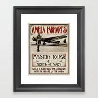 Mystery Tours & Flights of Fancy Framed Art Print
