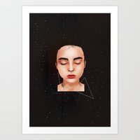 never let me go Art Print