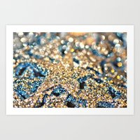Starry Wishes And Bokeh … Art Print