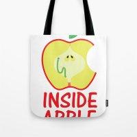 INSIDE APPLE Tote Bag