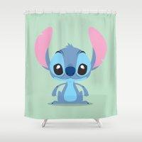 Stitch  Shower Curtain