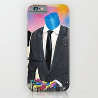 iPhone & iPod Case featuring Plasticine man in a suit. by FAMOUS WHEN DEAD