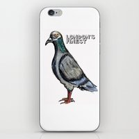London's Finest: The Grey Pigeon iPhone & iPod Skin