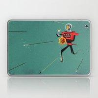 The Time Travelling Pira… Laptop & iPad Skin