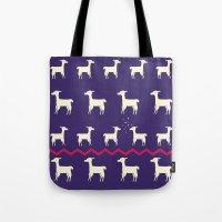 Lamas in Love Tote Bag