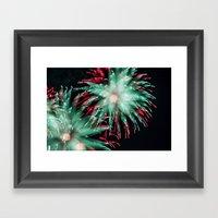 Fireworks - Philippines 15 Framed Art Print