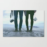 Adventure Love Canvas Print