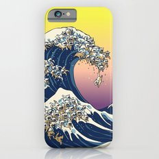 The Great Wave Of  Cat iPhone 6 Slim Case