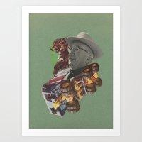 Beasts Art Print