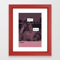 CLUELESS Movie Poster Framed Art Print