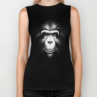 Monkee with Tooth Biker Tank