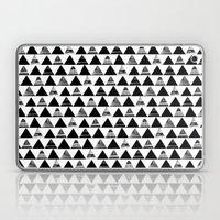B/W Triangles Laptop & iPad Skin