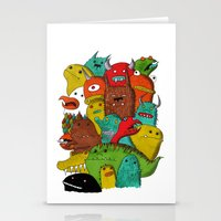 Mile-End Monsters Stationery Cards