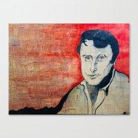 Hitchens  Canvas Print