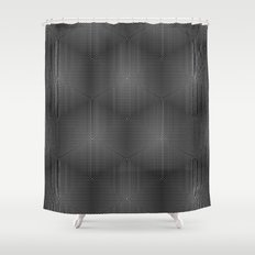 Honeycomb Shower Curtain