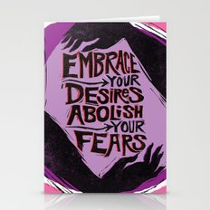 Embrace Your Desires Stationery Cards