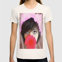 psychedelic Womens Fitted Tee Natural SMALL