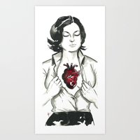 If I had a heart. Art Print