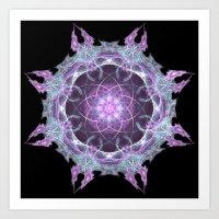 Fractal Mandala 2 Art Print