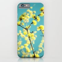 Yellow Spring blossoms iPhone 6 Slim Case