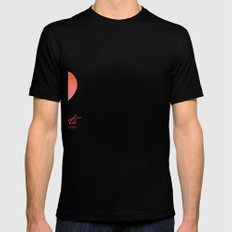 Christmas tree Mens Fitted Tee Black SMALL