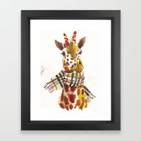 Longneck Framed Art Print