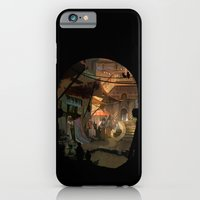 iPhone & iPod Case featuring canyon city in the clouds by Tyler Edlin Art