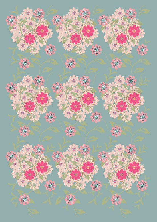 Flower pad Art Print