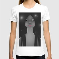 WOMEN1 Womens Fitted Tee White SMALL
