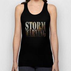 Storm Warning Unisex Tank Top